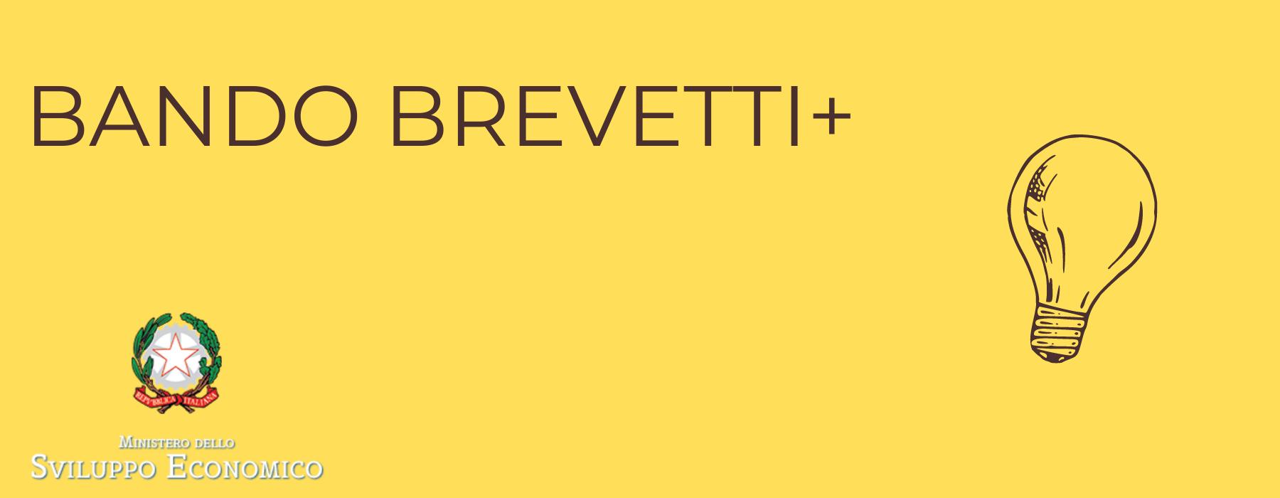 bando mise - bando nazionale - BREVETTI+